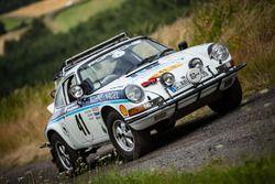 Classic Porsche rallycar