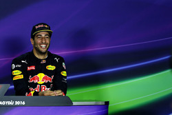 Conférence de presse : Daniel Ricciardo, Red Bull Racing