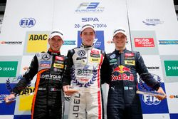 Rookie podium, 21 Anthoine Hubert, Van Amersfoort Racing, Dallara F312 - Mercedes-Benz, Joel Eriksso