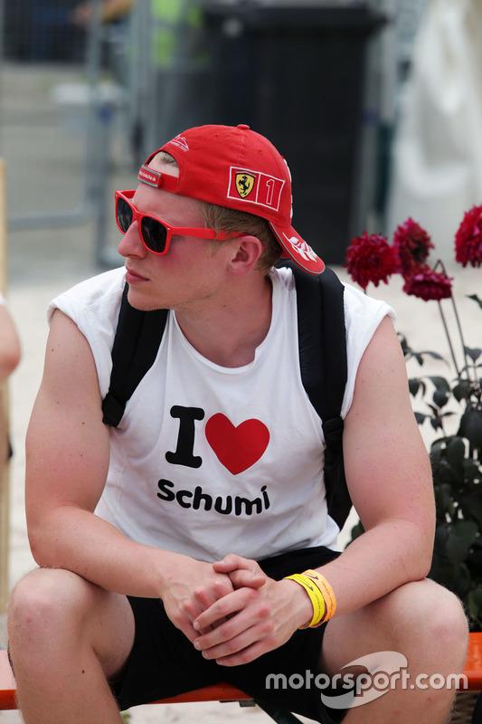 A Michael Schumacher, fan