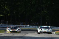 #5 Action Express Racing Corvette DP: Joao Barbosa, Christian Fittipaldi, #27 Dream Racing Lamborghi