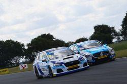 Warren Scott, Silverline Subaru BMR Racing; Aiden Moffat, Laser Tools Racing