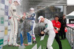 Premiazione: Lance Stroll, Prema Powerteam, Dallara F312 - Mercedes-Benz, Ben Barnicoat, HitechGP, D