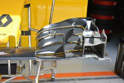 Détail de l'aileron avant Renault Sport F1