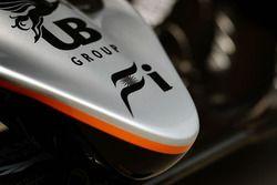 Sahara Force India F1 VJM09 nose cone detail