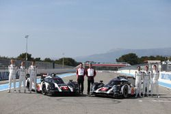 #1 Porsche Team, Porsche 919 Hybrid: Timo Bernhard, Mark Webber, Brendon Hartley, #2 Porsche Team Po