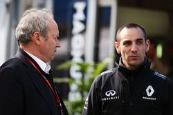 Jerome Stoll, Président de Renault Sport F1 et Cyril Abiteboul, Directeur Général Renault Sport F1