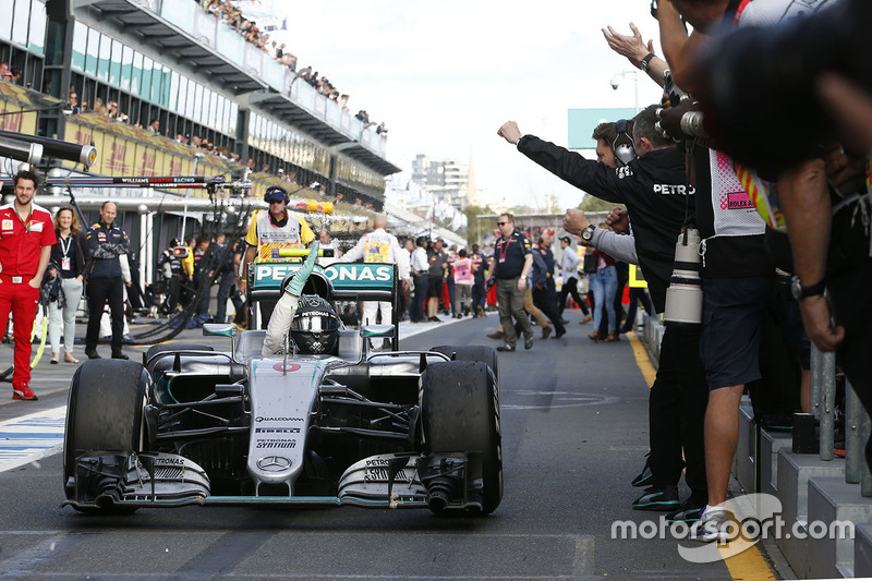 2016: Nico Rosberg