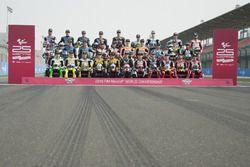 La photo de famille des pilotes Moto2