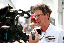 Dr. Frank-Steffen Walliser, a Porsche Motorsport vezetője