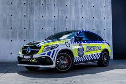 La Mercedes-AMG GLE 63 S Coupe de la police australienne