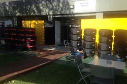 Les installations de l'écurie Renault Sport F1