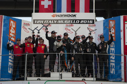 Podium A6-Pro: 1. #333 V8 Racing Renault RS01 FGT3: Luc Braams, Max Braams, Nicky Pastorelli, Miguel