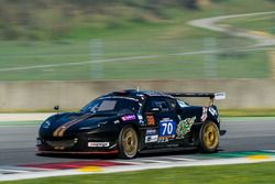 #70 Cor Euser Racing Lotus Evora GT4: Einar Thorsen, Sam Allpass, Bas Barenburg, Cor Euser