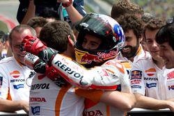 Marc Marquez, Repsol Honda Team, Honda in parc fermé