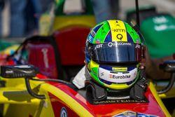 Helmet of Lucas di Grassi, ABT Schaeffler Audi Sport
