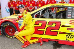Joey Logano, Team Penske Ford, polezitter