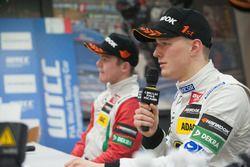 Пресс-конференция: Максимилиан Гюнтер, Prema Powerteam Dallara F312 – Mercedes-Benz и Ник Кэссиди, P