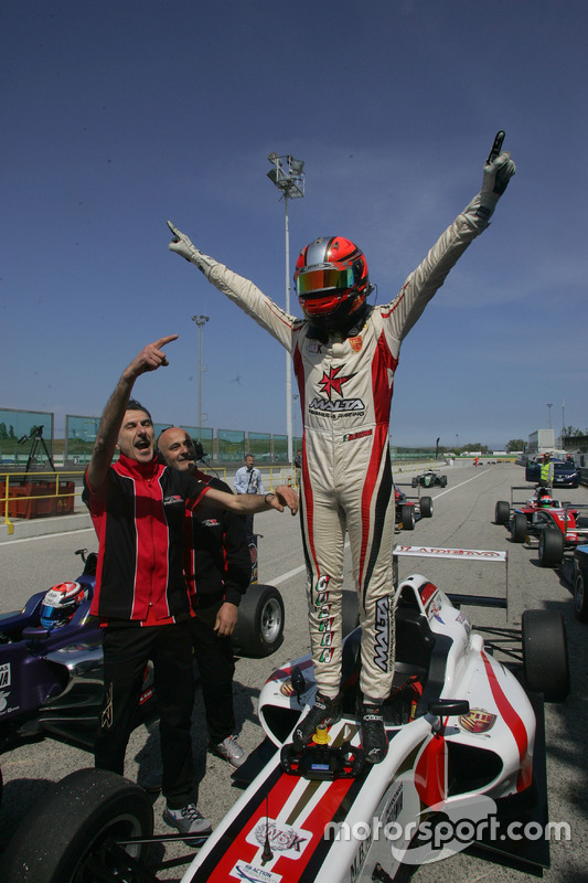 Il vincitore di Gara 3 Raul Guzman Marchina, DR Formula