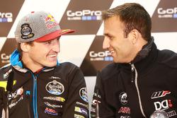 Jack Miller, Marc VDS Racing Honda et Johann Zarco, Ajo Motorsport