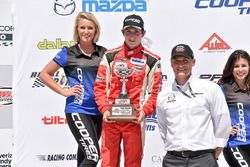 Second place Zach Veach, Belardi Auto Racing