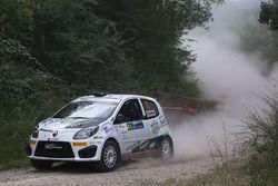 Daniele Pellegrineschi, Daiana Ramacciotti, Renault Twingo R R2B, Rally Experience)