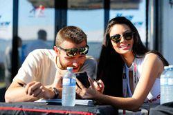 Cooper MacNeil, Alex Job Racing, mit Girl