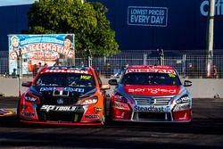 Garth Tander, Holden Racing Team and Rick Kelly, Nissan Motorsports
