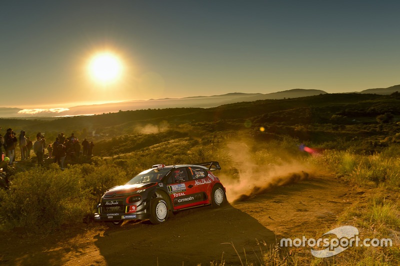 Kris Meeke, Paul Nagle, Citroën C3 WRC, Citroën World Rally Team