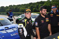 Il vincitore della gara, Daniel Mancinelli, TR3 Racing
