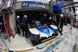 #47 Villorba Corse Dallara P217 Gibson: Roberto Lacorte, Giorgio Sernagiotto, Andrea Belicchi