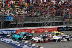 Denny Hamlin, Joe Gibbs Racing Toyota Brad Keselowski, Team Penske Ford William Byron, JR Motorsport