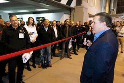 Zak Brown, président Motorsport Network ouvre le salon Autosport International 2017
