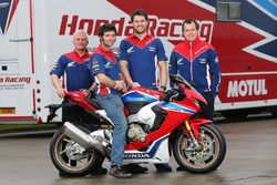 John McGuinness ve Guy Martin, Honda Racing