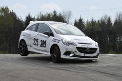 Patrick Lenzin, Opel Corsa OPC, Auto Germann Racing Team