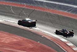 #63 Scuderia Corsa Ferrari 488 GT3: Christina Nielsen, Alessandro Balzan, #38 Performance Tech Motorsports ORECA FLM09: James French, Patricio O'Ward
