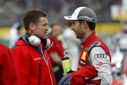 Tom Kristensen et Mike Rockenfeller, Audi Sport Team Phoenix, Audi RS 5 DTM
