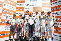 Podium: 1. #77 Callaway Competition, Corvette C7 GT3-R: Jules Gounon, Daniel Keilwitz, 2. #1 Montapl