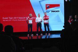 Davide Tardozzi, Ducati-Teamchef; Paolo Ciabatti, Ducati-Sportchef