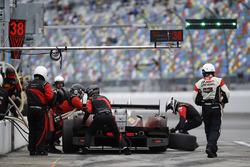 La #38 Performance Tech Motorsports ORECA FLM09: James French, Kyle Mason, Patricio O'Ward, Nicholas Boulle aux stands