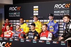 Sebastian Vettel, Travis Pastrana, Pascal Wehrlein, Tom Kristensen, Gabby Chaves, Juan Pablo Montoya