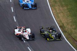 Charlie Kimball, Chip Ganassi Racing Honda Tristan Vautier, Dale Coyne Racing Honda