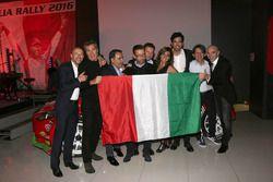 Giandomenico Basso, Jimmy Ghione, Lorenzo Granai, Simone Campedelli, Armando Donazzan