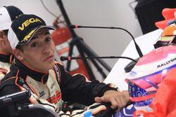 Pedro Hiltbrand en la rueda de prensa del CIK FIA World Championship
