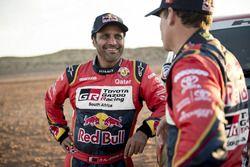 Matthieu Baumel und Nasser Al-Attiyah, Toyota Gazoo Racing