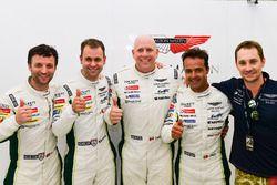 LMGTE Pro and LMGTE Am Polesitters: #97 Aston Martin Racing Aston Martin Vantage GTE: Darren Turner,