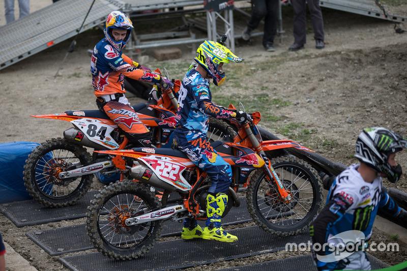 Jeffrey Herlings and Tony Cairoli, Red Bull KTM Factory Racing