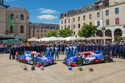 #13 Vaillante Rebellion Racing Oreca 07 Gibson: Матіас Беш, Давід Хейнемаєр Ханссон, Нельсон Піке-молодший, #31 Vaillante Rebellion Racing Oreca 07 Gibson: Жюльєн Каналь, Бруно Сенна, Ніколя Прост