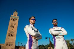 Sam Bird, DS Virgin Racing and Jose Maria Lopez, DS Virgin Racing