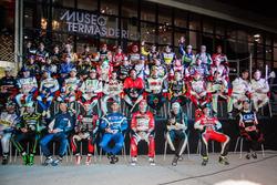 Foto de grupo de los pilotos de TC